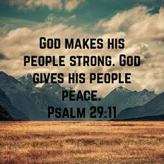 With God is strength.