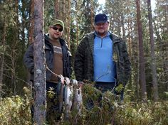 Taigalaisten kanssa ryhmänä ison kalan kimpussa 15.5.2014