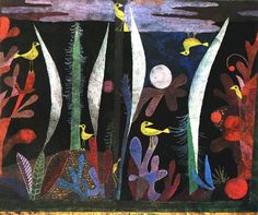Landscape with Yellow Birds. 1923. Obra de Paul Klee