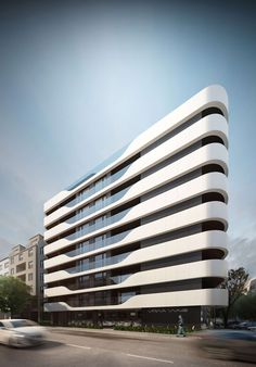 Varna Wave is a stylish residential building, situated in the central part of Varna at the intersection of Makedonia str and General Kolev blvd. The design o...