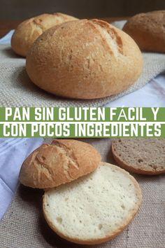 Gluten Free Recipes, Bread Recipes, Vegan Recipes, Vegan Food, Pan Bread, Keto Bread, Sem Lactose, Dairy Free, Bakery