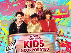 Kids Incorporated. K-I-D-S...whoooaaa...looks like we'll make it on Kids Incorporated! Yeah!