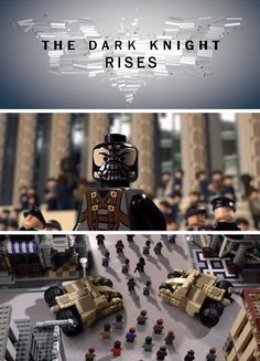 "Watch ""The Dark Knight Rises"" entirely made out of LEGO."