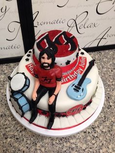 Dave grohl cake.