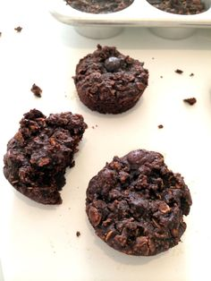 Vegan Peppermint Brownie Protein Muffins   Hummusapien