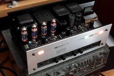 Luxkit A-1033 from 1979 - the factory kit-built version of the Luxman LX-33 Tube Amplifier