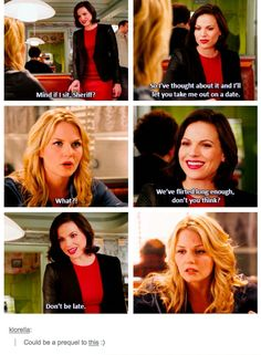 Awesome Regina and Emma (Lana and Jen) #Once S3