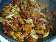 Cookbook Recipes, Meat Recipes, Cooking Recipes, Pork Tenderloin Recipes, Greek Recipes, Kung Pao Chicken, Easy Meals, Food And Drink, Appetizers