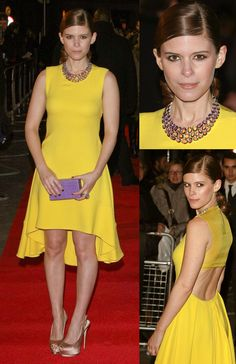 Kate Mara at the House of Cards premiere