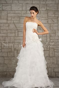 Bethany Gown - Flouncy and fun.  Love ruffles...