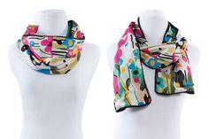 Pom pom scarf | Selfish Sewing Week and Indiesew