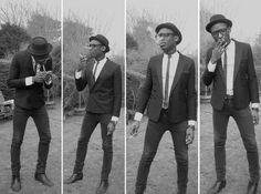 filthy ska ~ dirty reggae ~ offbeat music with a grim, raw sound submissions welcome Teddy Boys, Mod Fashion, Punk Fashion, Girl Fashion, Afro, Ska Punk, Skinhead Fashion, Pork Pie Hat, Nostalgia