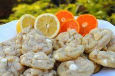 Orangeburst and Lemonburst Cookies (AKA Creamsicle Cookies)