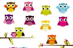 Owl Vectors and Clipart