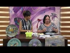 Mulher.com - 19/09/2016 - Arte em prato de cerâmica - Rose Rodrigues P2 - YouTube