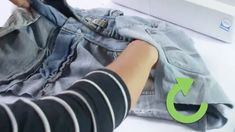 How to Make a Denim Purse (with Pictures) - wikiHow Blue Jeans, Denim Jeans, Blue Jean Purses, Denim Purse, Purse Tutorial, Denim Crafts, Fabric Bags, Sewing Projects, Couture