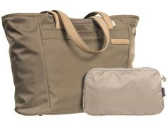 Briggs & Riley Baseline - Large Shopping Tote Bag Olive - Zappos.com Free Shipping BOTH Ways
