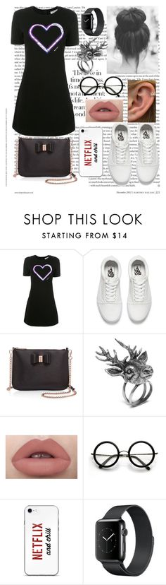 """#casuals"" by kasturi23 ❤ liked on Polyvore featuring Carven, Vans, Ted Baker, Mulberry and ZeroUV"