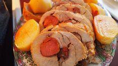 Two Azorean Chicks: Lombo de porco recheado com chourico