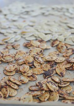 Roasted Pumpkin Seeds Three Ways