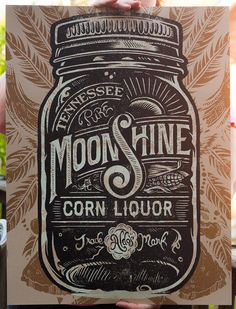 Typeverything.com - Moonshine Corn Liquor by Derrick Castle