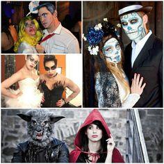 Creepy Halloween partner costumes