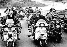 Quadrophenia London to Brighton Mod Scooter, Lambretta Scooter, History Of Nigeria, Fred Perry Polo Shirts, Fishtail Parka, Teddy Boys, Green Bomber Jacket, Slim Fit Chinos, 60s Mod