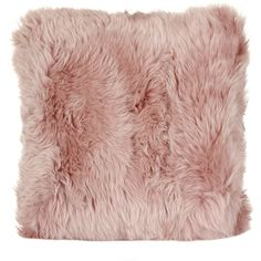 Natures Collection New Zealand Sheepskin Cushion - 50x50cm - Rosa (575 PLN) ❤ liked on Polyvore featuring home, home decor, throw pillows, filler, bags, pink, pink throw pillows, pink accent pillows, pink home decor and rose throw pillow