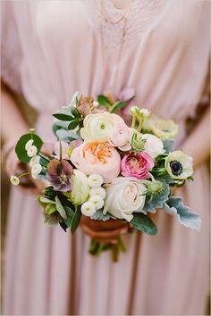 Bouquet de Novia con Flores hechas de papel Paper Flowers Bouquet