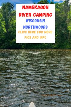 Canoe camping and canoe poling the Namekagon River in the Wisconsin northwoods. River Camp, Canoe Camping, Adventure Travel, Wisconsin, Canoeing, Collections, Beautiful, Adventure Tours, Canoes
