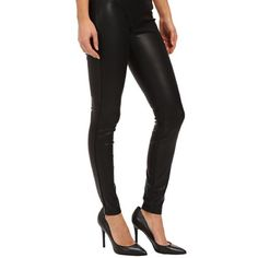 Blank NYC Vegan Leather Leggings 27/28 In EXCELLENT condition- worn once. Very realistic look and feel to the faux leather. These are a size 27 but in my opinion would fit a 28 better. I run between a 26-27 and these are just a bit too big on me. If you run between a 27-28 I would recommend going with the 27! Blank Denim Pants Leggings