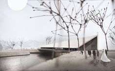 Gallery of AOR Present Proposals for a Church Which Doubles as a Pedestrian Bridge, Spanning a Finnish River - 4