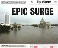2008 flood in Cedar Rapids Iowa