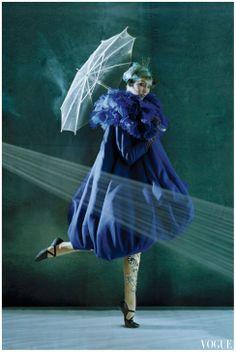Karlie Kloss in Dior, photo by Tim Walker, Vogue, 2010