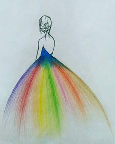 Fashion Drawings - - Fashion Drawings – - - Fashion Show Art Drawings Sketches Simple, Girl Drawing Sketches, Girly Drawings, Art Drawings Beautiful, Pencil Art Drawings, Colorful Drawings, Easy Drawings, Beautiful Girl Drawing, Color Pencil Art