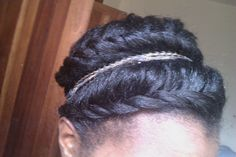 Cute Flat Twists Shared By Elohim - http://community.blackhairinformation.com/hairstyle-gallery/relaxed-hairstyles/cute-flat-twists-shared-elohim/ #relaxedhairstyles