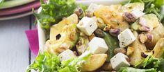 Peruna-fetajuustosalaatti   Alkuruoat   Reseptit – K-Ruoka