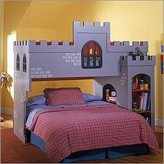 Mod Bunk Bed With Rounded Corner Openings And Plywood