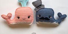 Whale Amigurumi Free Crochet Pattern • Spin a Yarn Crochet