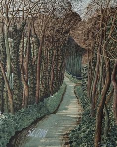 Turn Right at the Top - Simon Palmer - Portland Gallery Landscape Art, Landscape Paintings, Tree Paintings, Top Art Schools, Leave Art, Crafts For 2 Year Olds, Art Advisor, Art Archive, Cool Landscapes