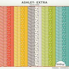 Ashley Extra Digital Paper - Freebie