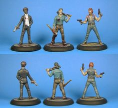 Marvin, Troy and Chaz - Zombicide Boardgame - Guillotine Games