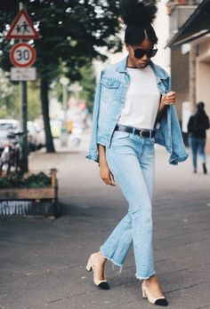 How to Wear a Denim Jacket: 25 Foolproof Outfit Ideas | StyleCaster