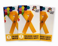 Gold Ribbons (3 packs)