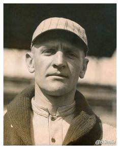 Young Casey Stengel Looking Clean In A Cardigan ~ Rare photo c.1920 as a member of the Philadelphia Phillies…