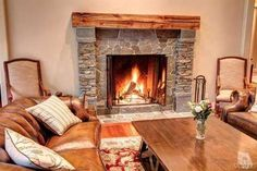 I need a fireplace like this!