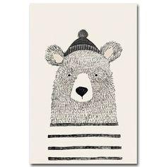 Cute Woodland Animals Nursery Wall Art Fox Bear And Ice Cream Characters Fine Art Canvas Prints Nordic Pictures For Children's Bedroom Decor - Nordic Wall Art (Canvas Prints) Nursery Canvas Art, Canvas Art Prints, Canvas Wall Art, Canvas Frame, Bear Sketch, Woodland Animal Nursery, Woodland Animals, Bird Nursery, Nordic Art