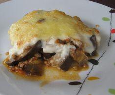 Recette gratin d'aubergine façon moussaka par lilas35 - recette de la catégorie…
