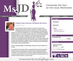 Ms. JD | Changing the Face of the Legal Profession - Click to visit blog:  http://1.33x.us/ImPyrI