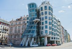 Dancing House, Prague, Czech Republic - One of the best piece of...